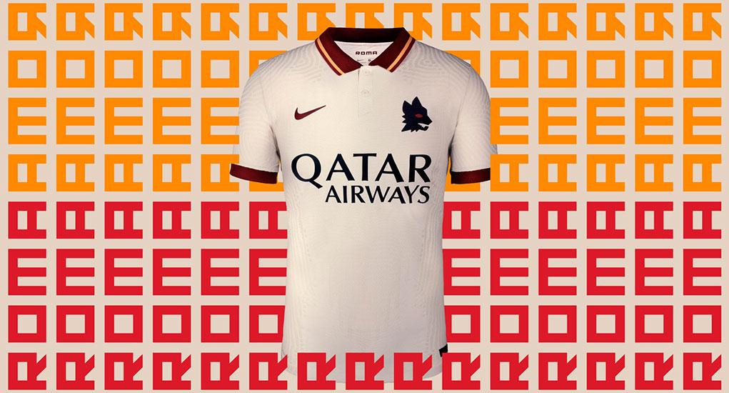 AS Roma 2020-21 Nike Away Kit