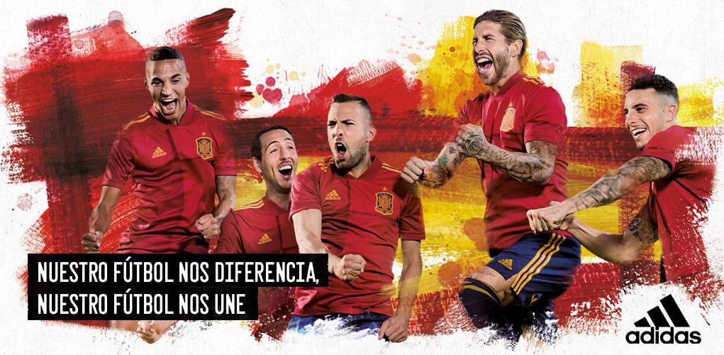 España y adidas hacen las paces y estrenan la camiseta para la Euro 2020