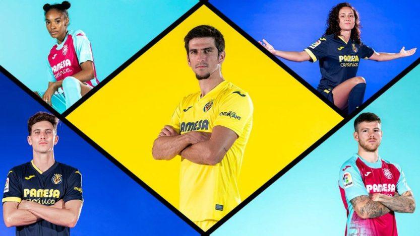 Villarreal libera su colección de camisetas para La Liga 2020-21