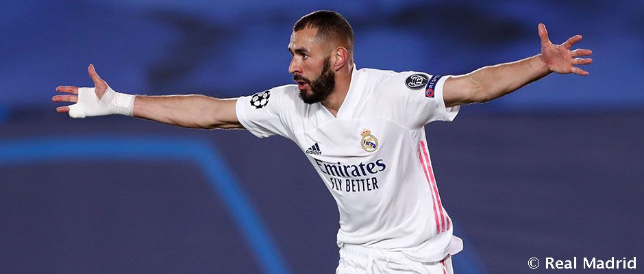Benzema, cuatro partidos consecutivos marcando