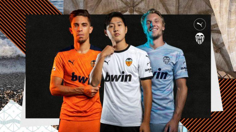 Nacido de la valentía: Valencia estrena sus camisetas 2020-21