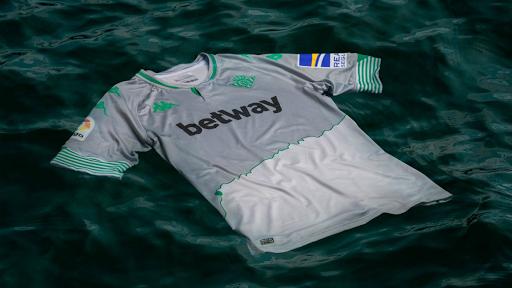 El Guadalquivir es protagonista de la tercera camiseta del Betis