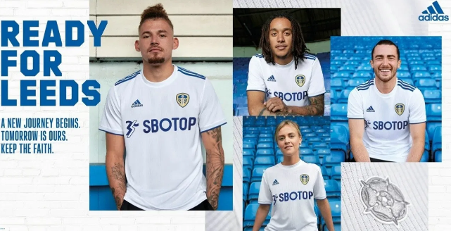 El fresco look con que el Leeds United retorna a la Premier League