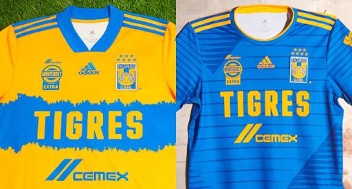 Jerseys adidas de Tigres UANL 2020-21