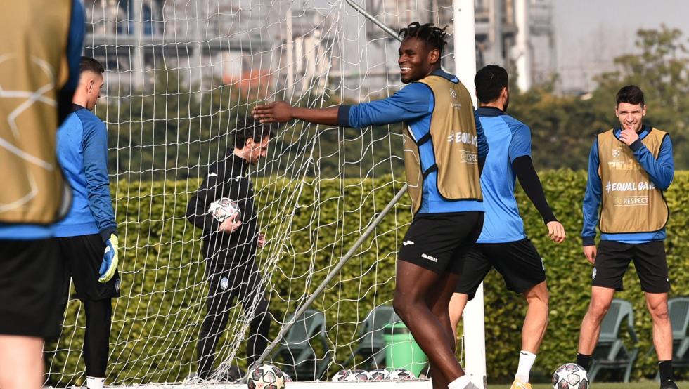El Atalanta prepara la visita al Madrid sin Hateboer ni Sutalo