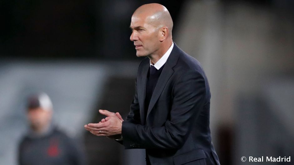 """Zidane: """"Este equipo tiene carácter y siempre quiere más"""""""