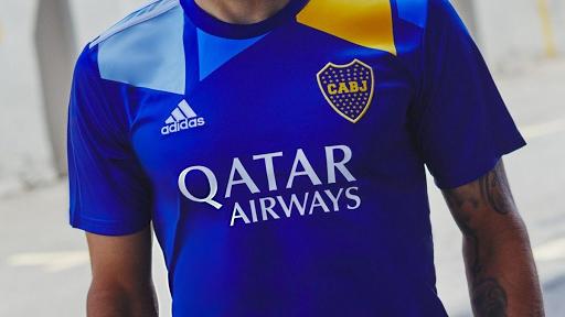 Caminito es la postal de la tercera camiseta de Boca Juniors 2021