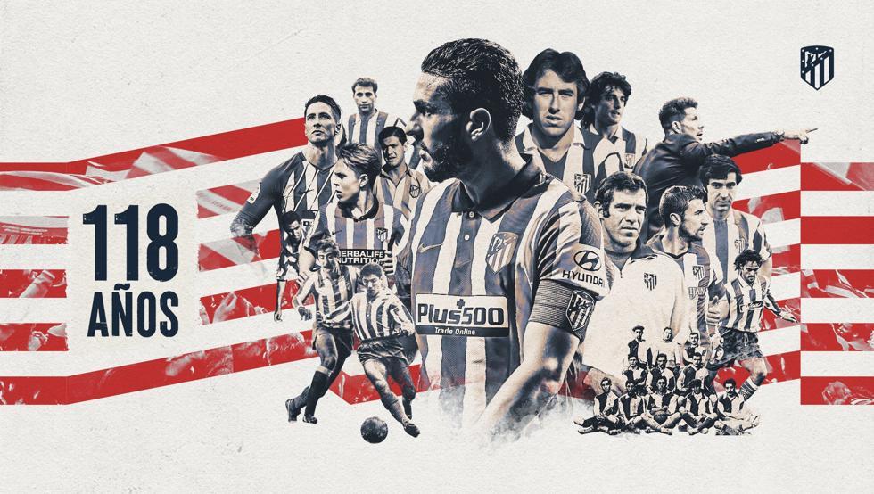 El Atlético cumple años… muy preocupado
