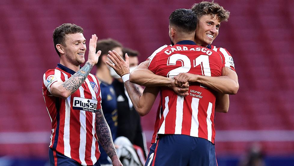 Sin sufrir no sería el Atlético