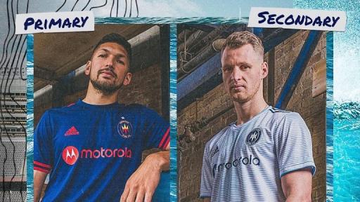 The Lakefront Kits: Chicago Fire enseña sus camisetas para 2021