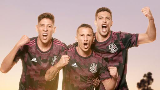 México apuesta por un combo de negro y rosa para su camiseta 2021