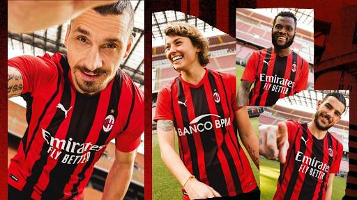 Dinamismo, movimiento y rascacielos: La camiseta AC Milan 2021-22
