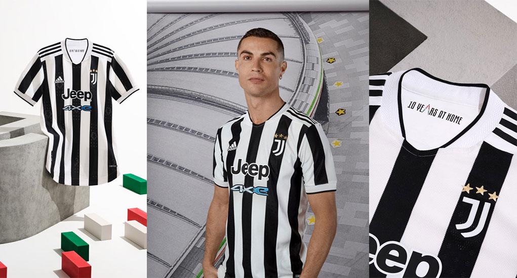 Juventus 2021-22 adidas Home Kit