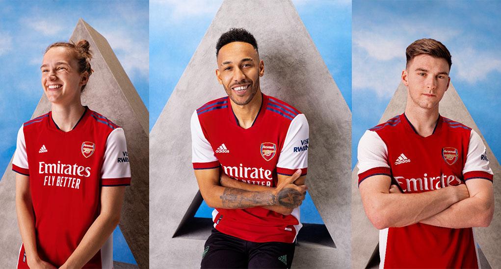 Arsenal FC 2021-22 adidas Kit