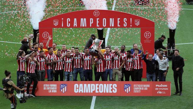 «Otra forma de entender la vida», el documental de la última Liga del Atlético se estrena este viernes en Amazon