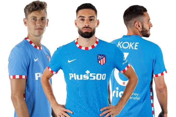 El Atlético de Madrid presenta su tercera equipación con homenaje al Vicente Calderón